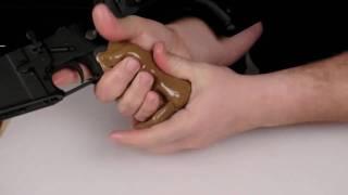 Bir AR Kulplu ve Palmiye Kabarma-15/M16/M4 Kabza Oluşturma Brownells - SIÇAN Grips