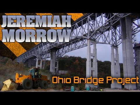 Tallest bridge in Ohio, rt 71 highway construction project 2011
