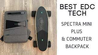 Best EDC Tech: Spectra Mini Plus and Walnutt Commuter Backpack Review