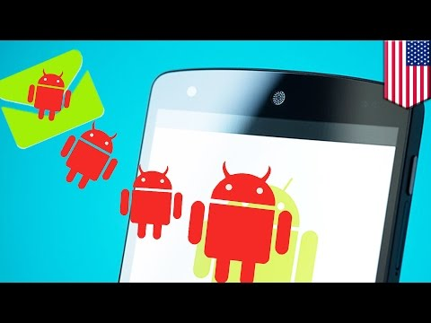 Android hack: Most Android phones could be hacked with a single text, says security firm - TomoNews