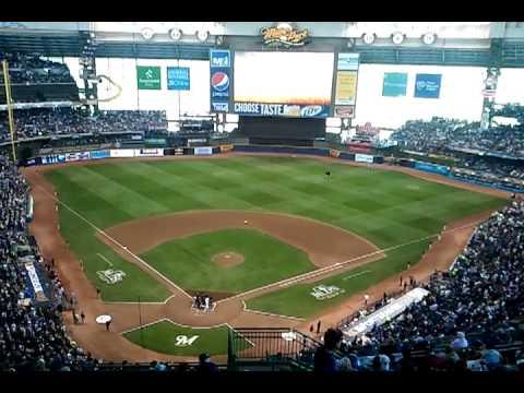 Milwaukee Brewers Take The Field - 2011 NLDS v. Arizona Diamondbacks