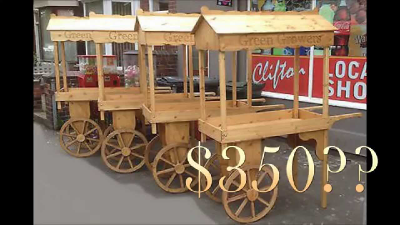 T2T: Fruit Cart ( Part 1: Making the Wagon Wheels) - YouTube