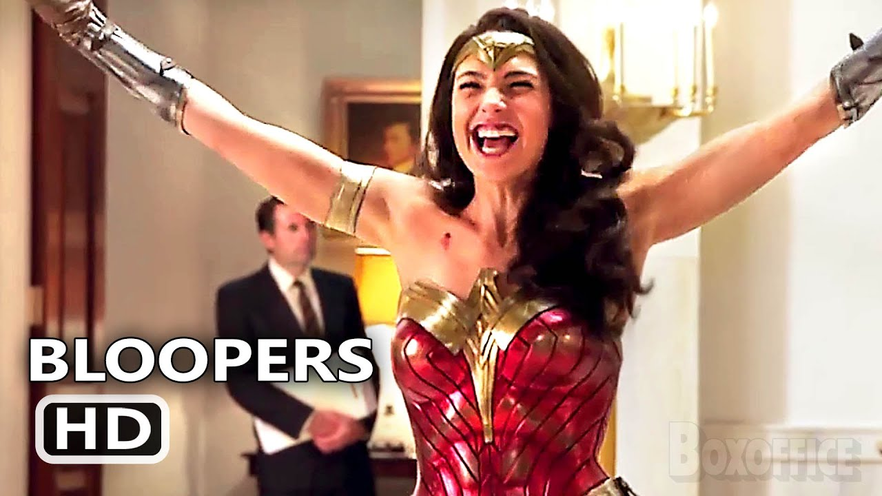 WONDER WOMAN 1984 Bloopers (NEW 2020) Wonder Woman 2, Gal Gadot Action Movie