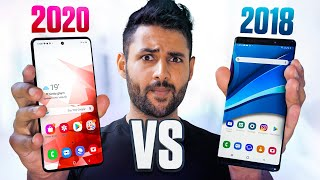 Cheap 2020 Smartphone vs 2018 Flagship.