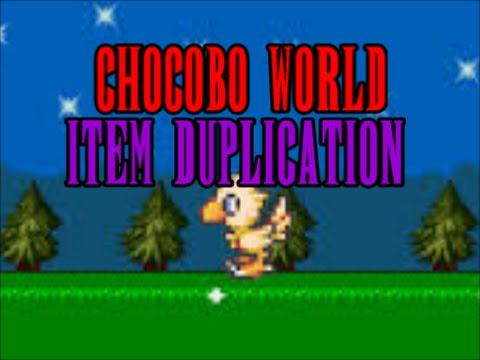 FF8 Chocobo World Item Duplication Glitch (PC Only) - YouTube