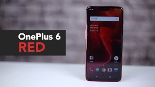 OnePlus 6 Red | OnePlus 6 Red First Look | Price