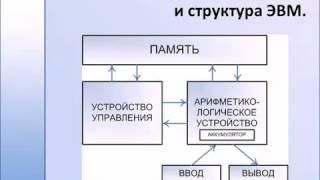 Базовая архитектура и структура ЭВМ