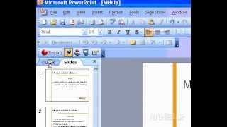 Microsoft Office PowerPoint 2003 About PowerPoint views