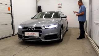 Audi A6 C7 2017 г. Бесключевой автозапуск