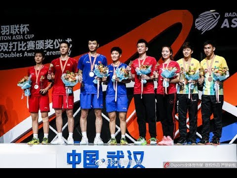 Badminton Asia Championships 2019 - Mixed Doubles Medal Ceremony
