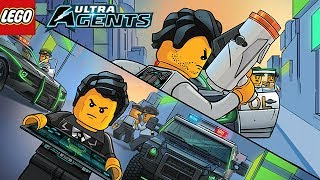 LEGO® ULTRA AGENTS - Mysterious Group Of Super Villains Attack Astor City Full Gameplay Gameplay