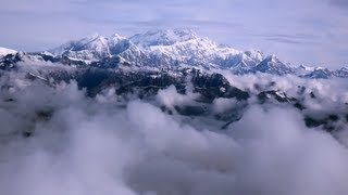 Flight Tour of Mount McKinley in Denali National Park, Alaska