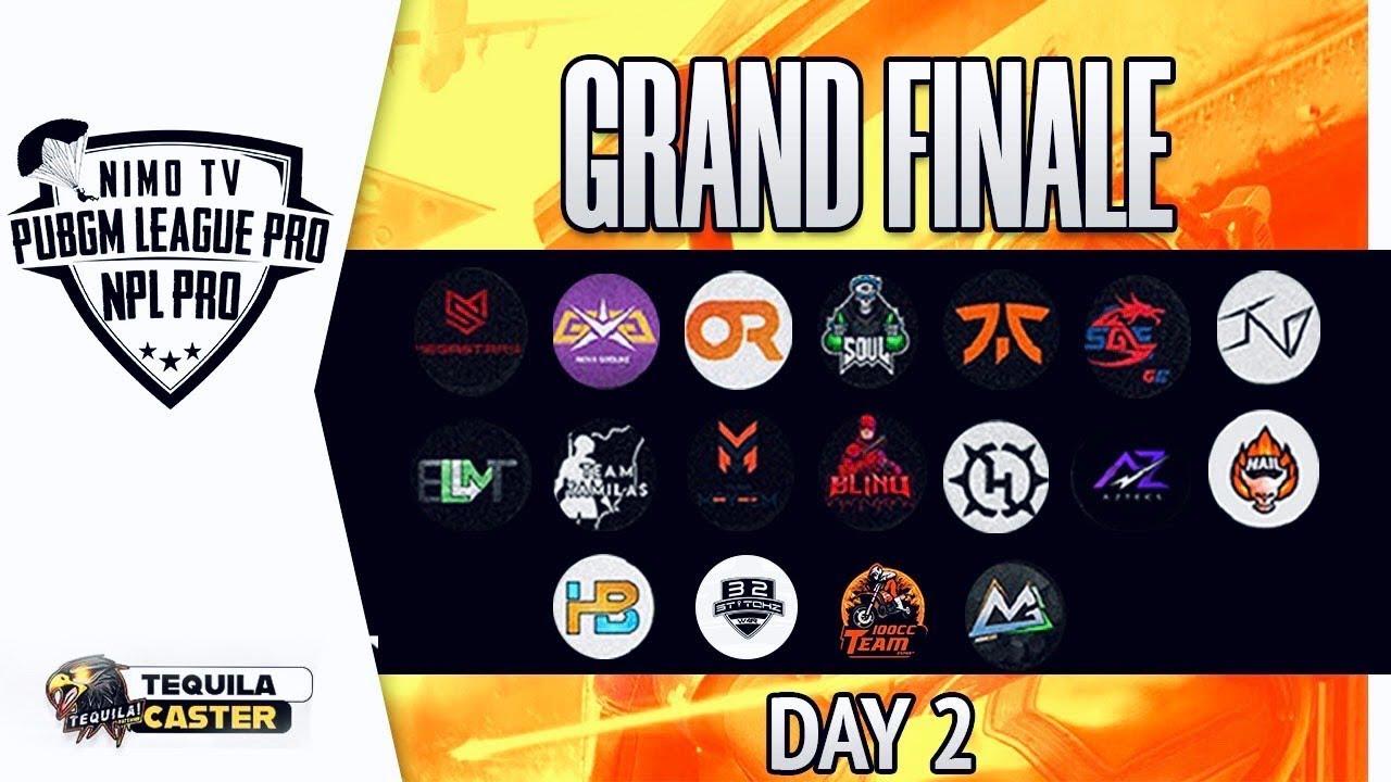 NimoTV PUBGM League PRO || FINALE Day-2 ft.OR, Soul, Fnatic, TSM-Entity (Re-Telecast)