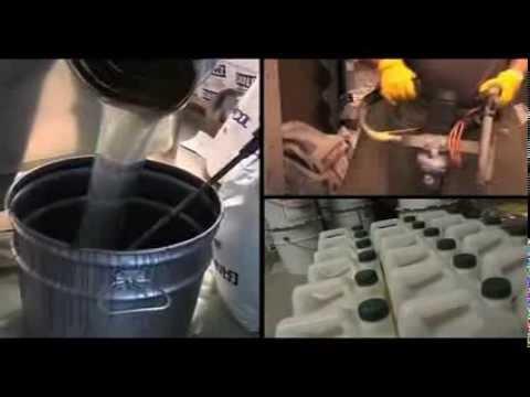 4m Europe - resin application (aplicare rasini sintetice)