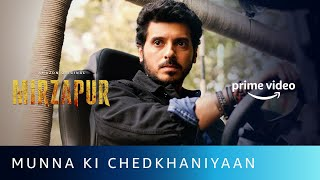Munna Ki Chedkhaniyaan | Mirzapur 2 | Divyenndu, Pankaj Tripathi | Amazon Original | Watch Now