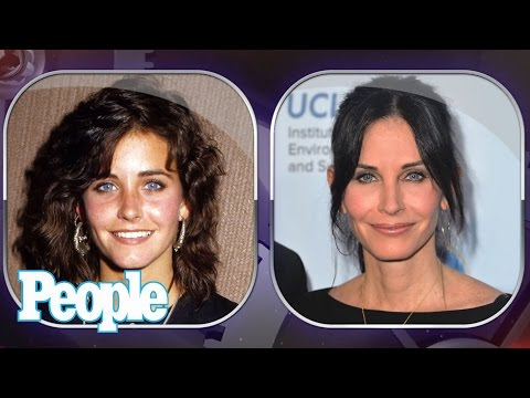 Courteney Cox's Changing Looks!  People