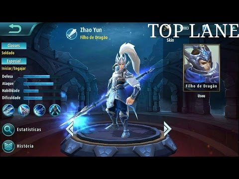 Mobile Legends: Pro Yun Zhao player, best tactics and Gameplay