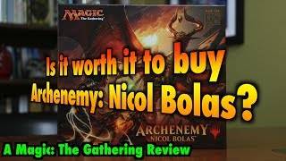 MTG - Is it worth it to buy Archenemy: Nicol Bolas for Magic: The Gathering?