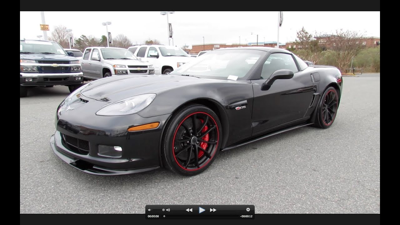 2012 chevrolet corvette z06 centennial edition start up exhaust and in depth tour youtube