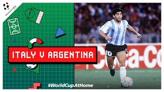 Italy 1-1 Argentina (3-4 PSO) | Extended Highlights | 1990 FIFA World Cup