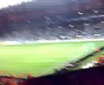 Celtic - Shaktar Donetsk, You'll Never walk alone