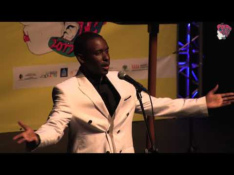 ANDREW MANYIKA AT POETRY AFRICA 2017