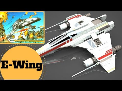 The X-Wing UPGRADE? - E-wing Escort Starfighter - Star Wars Ships & Vehicles Lore Explained