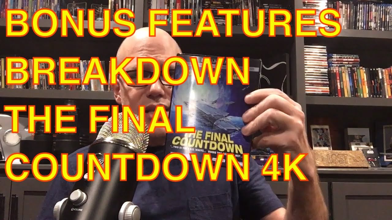 Download Bonus Features Breakdown and Unboxing: The Final Countdown 4k