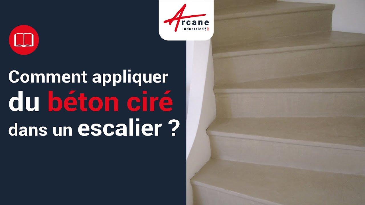 Béton Ciré Sol Mur Escalier Terrasse Application Outils Lisseuse Couteau