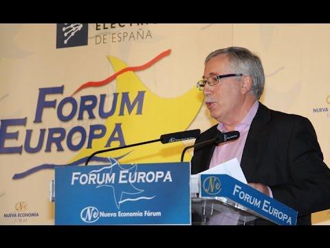 Fórum Europa con Ignacio Fernández Toxo