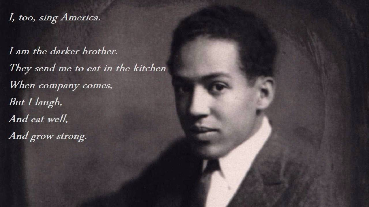 "an analysis of i too a poem by langston hughes Langston hughes' ""i, too"" takes a lyrical look at inequality."
