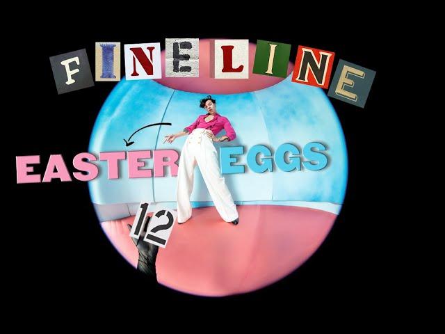 Easter Eggs On Fine Line