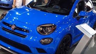 Fiat 500X Chicane al SEMA di Las Vegas 2015