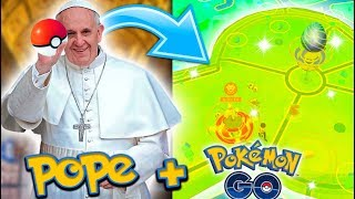 THIS IS WHERE THE POPE PLAYS POKÉMON GO! (Pokémon GO in the VATICAN)