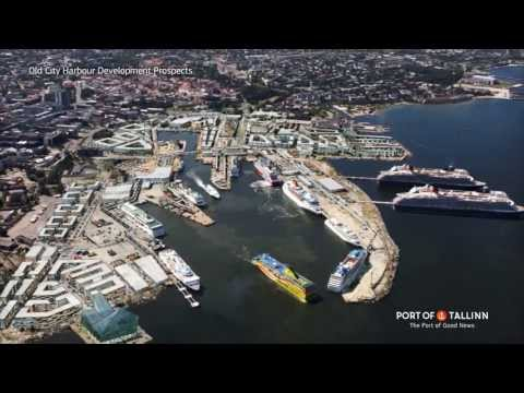 Future of Tallinn's Old City Harbour: Promenade + Development Prospects