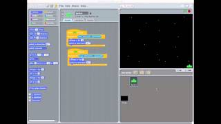 Making Space Invaders with Scratch part 1