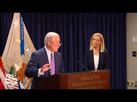WATCH: AG Sessions discusses criminal gang MS-13 and immigration