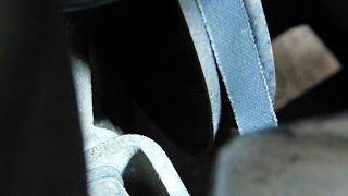 Свист ремня генератора, воспользуемся кондиционером натяжителем приводных ремней(, 2013-12-21T20:15:33.000Z)