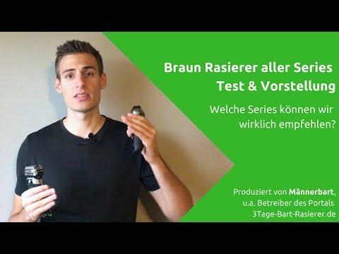 Braun Rasierer Der Series 3, 5, 7, 9 Im Test | Teurer Ist Nicht Immer Besser