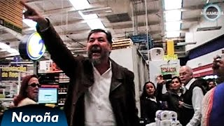 Fernández Noroña protesta vs abuso de Comercial Mexicana. #DesobedienciaCivil #NoPagoIVA