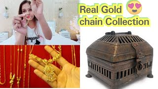 Real Gold chain review latest ladies Gold design haul,My gold collection,shopping review