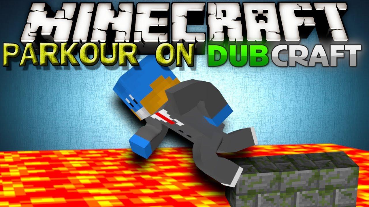 Minecraft server parkour dubcraft trollyness youtube