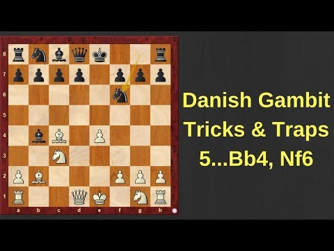 Chess Opening Tricks & Traps To Win Fast : Danish Gambit # 3 - Capablanca Vs Aalhuizen
