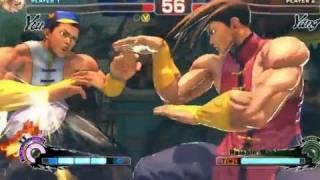 Street Fighter 4 Arcade Edition: Yun vs Yang Trailer