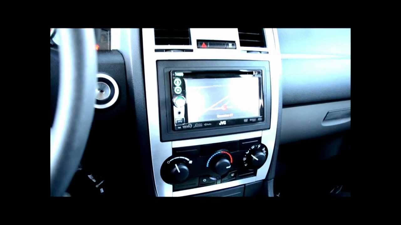 hight resolution of radio removal and 2 din upgrade on an 05 08 chrysler 300 base model youtube