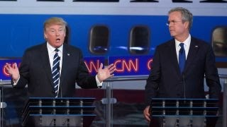 Bush vs. Trump over the governor