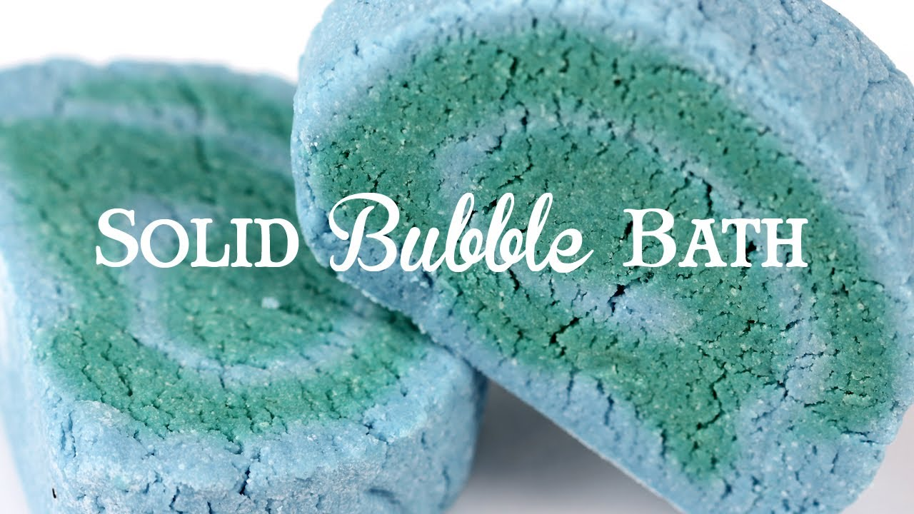 LoveSpell Solid Bubble Bath DIY
