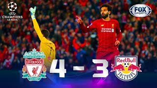 Liverpool - Salzburg [4-3] | GOLES | Grupo E | UEFA Champions League