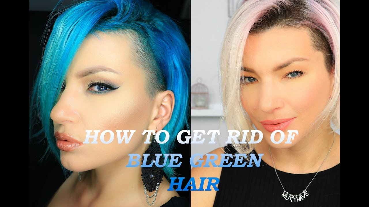 How To Get Rid Of Blue Green Hair Hacks Tested Vit C B4 Blond Me