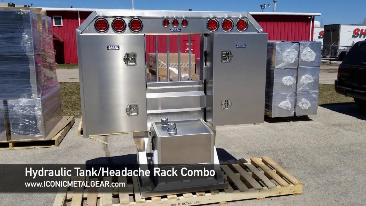 semi truck hydraulic tank and headache